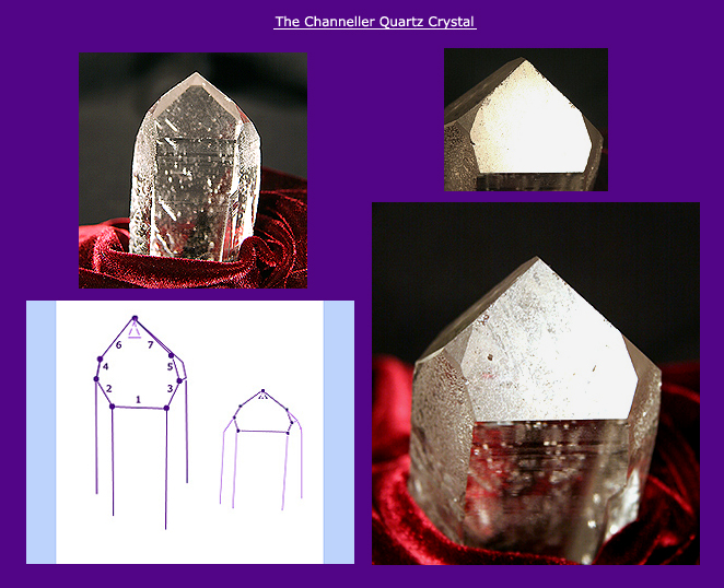 Channeller Quartz crystals - Channelling Crystals