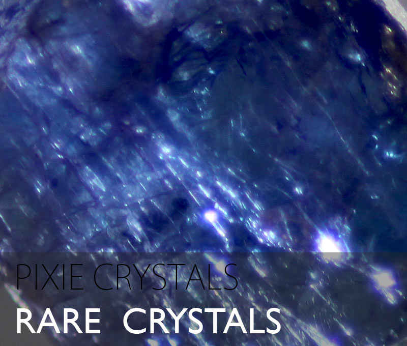 Rare and other crystals