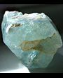 Hexagonal Large Aquamarine crystal