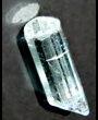 Natural Aquamarine gem crystal