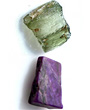 2 Sugilite and 2 Aquamarines