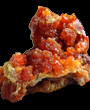 Red Orange Zincite Spheres