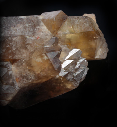 Incredible Citrine Elestial crystal