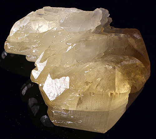 Rare Golden Calcite Crystal