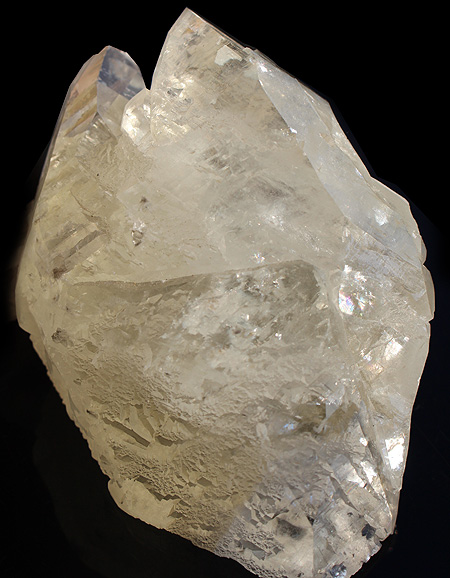 Stellar Beam Calcite point